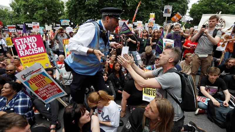 INSIGHT: Corbyn addresses mass anti-austerity rally