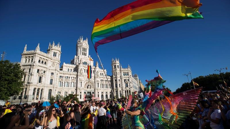 INSIGHT: Huge World Pride parade in Madrid