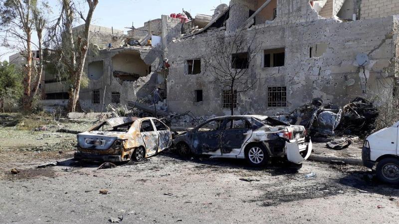 Car bomb kills seven people in Damascus