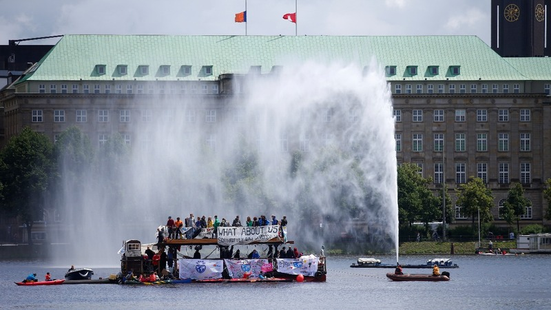 INSIGHT: Anti-G20 protests begin in Hamburg