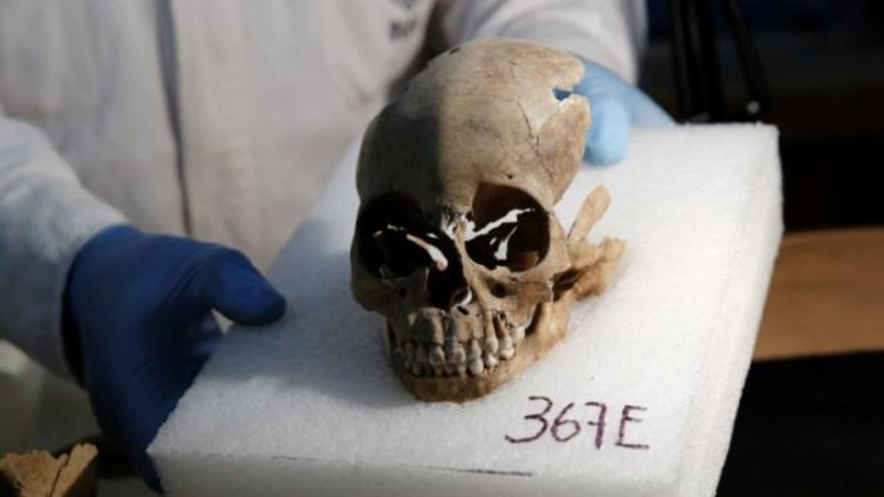 Tower of human skulls casts new light on Aztecs