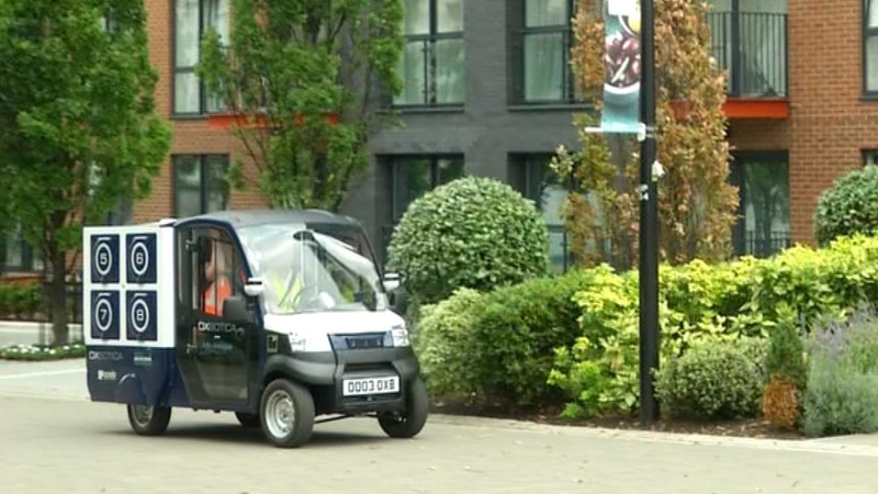 Ocado trials self-driving delivery vans