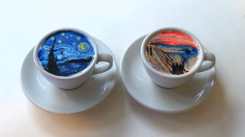 INSIGHT: South Korean barista turns coffee into art