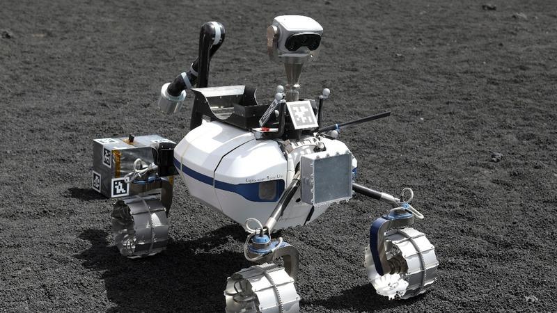 INSIGHT: Scientists test lunar robots on Etna