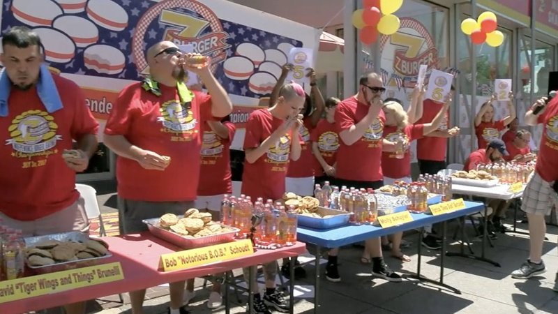INSIGHT: Competitive eaters face off in burger bout