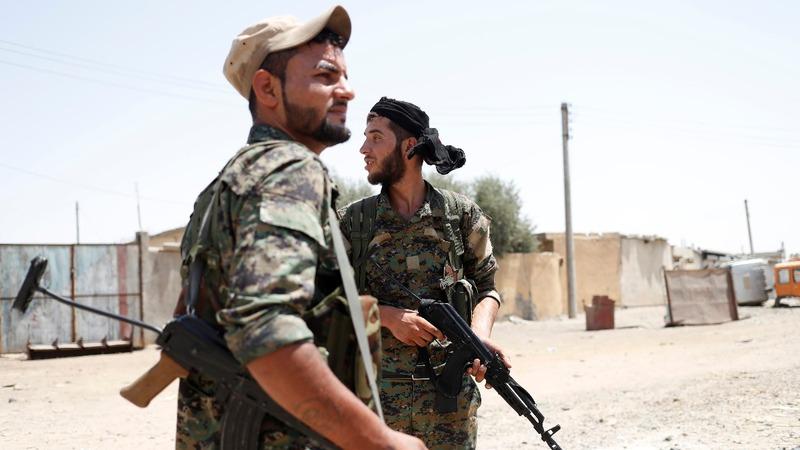 Raqqa battle: U.S.-backed forces breach Old City wall