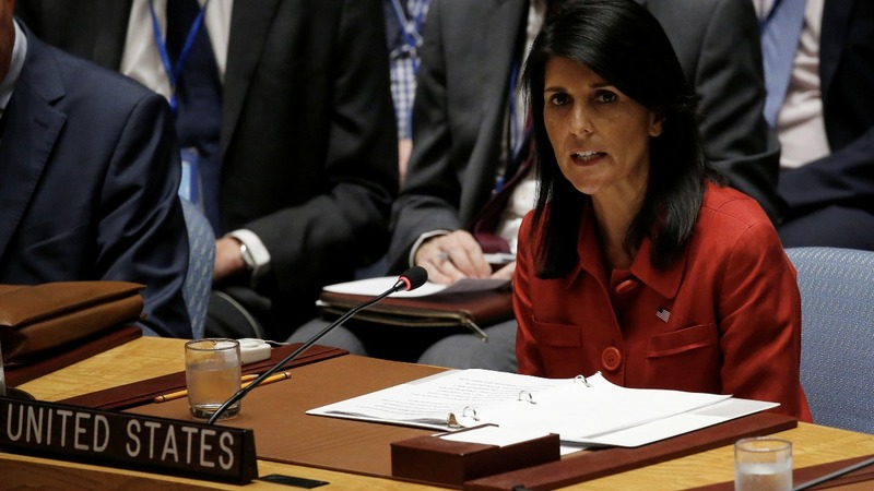 VERBATIM: U.S. will use military force in NK 'if we must' - Haley
