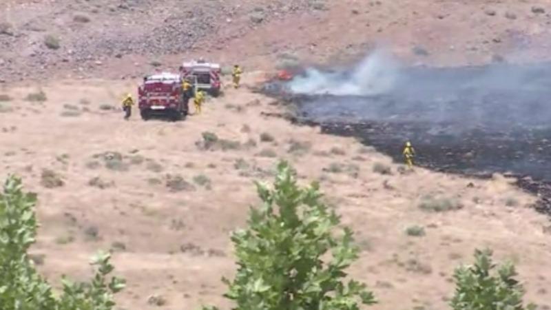 Fires burn through Nevada