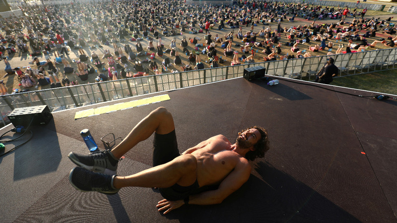 INSIGHT: Fitness coach breaks HIIT world record