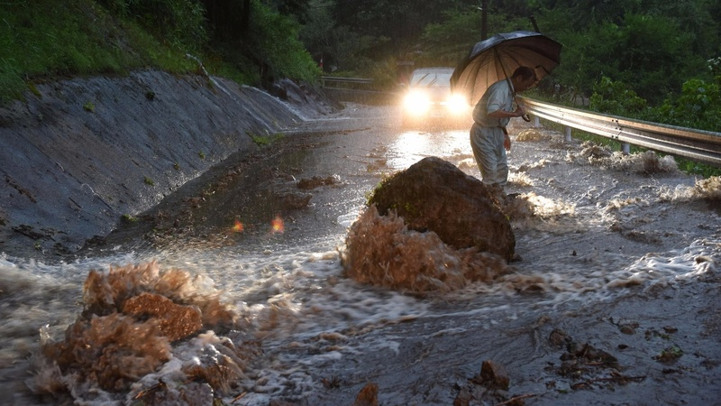 Record rain in Japan takes deadly turn