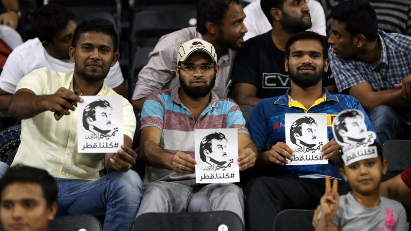 Arab boycott stirs Qataris' patriotism