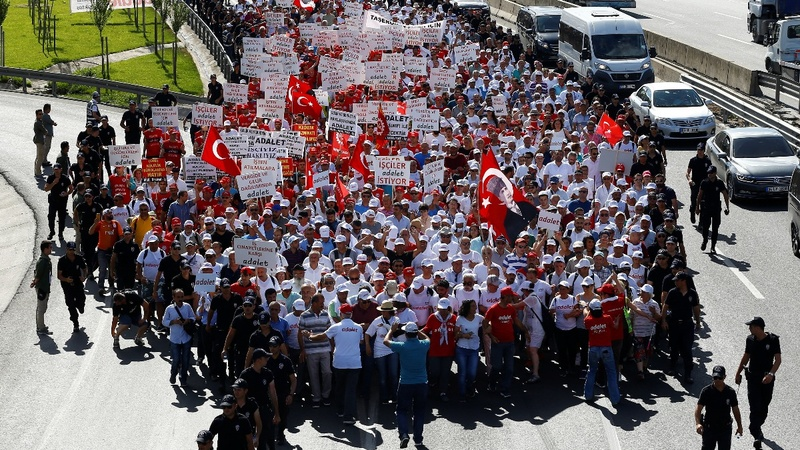 Turkey's justice march: 'It's just the beginning'