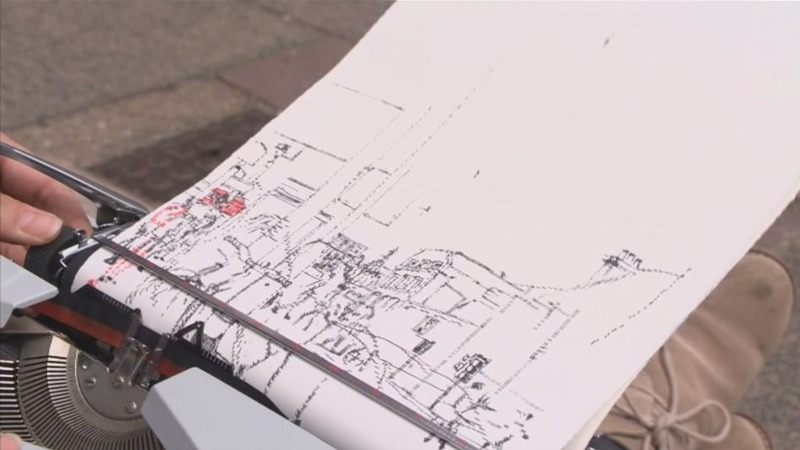 INSIGHT: Creating art with a typewriter