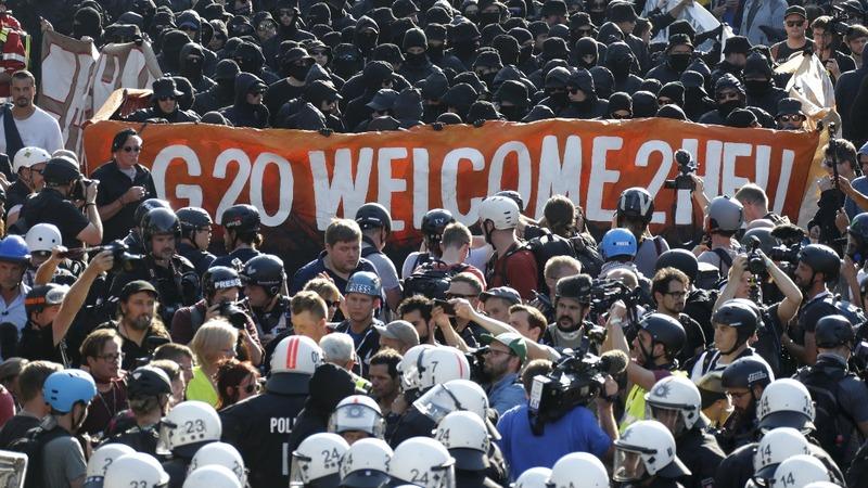 INSIGHT: G20 protesters flood Hamburg