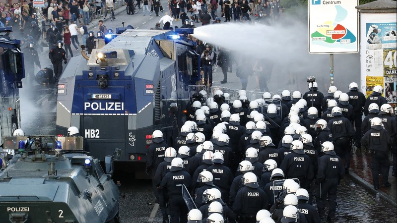 Merkel sees message in G20 protests