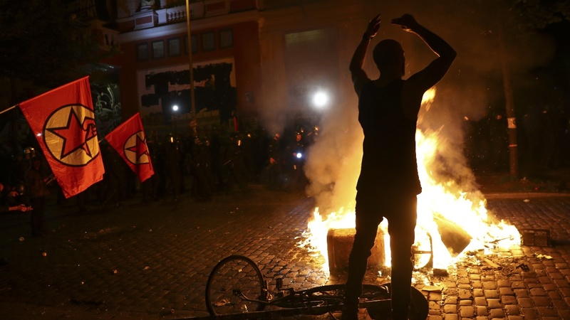 'Welcome to hell': Riots greet G20 leaders