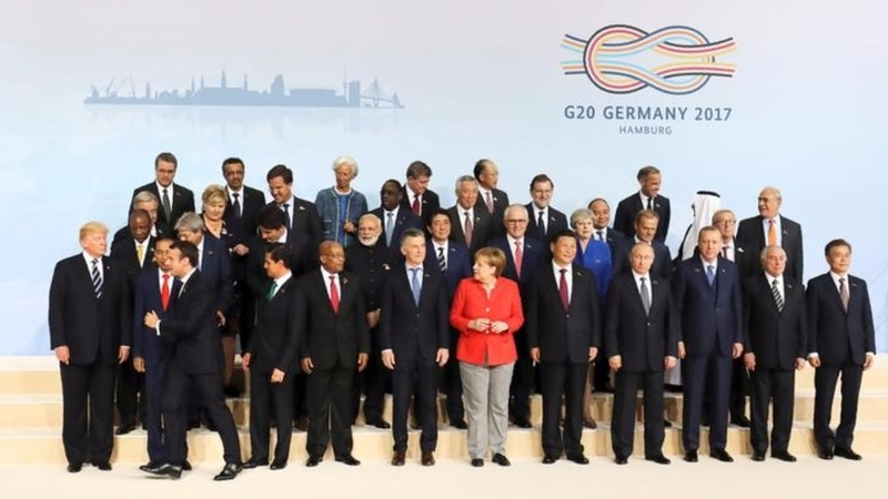 G20 Leaders press Trump on climate change
