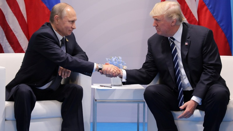 Trump, Putin finally have that handshake