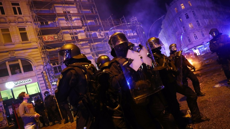 INSIGHT: Police move in after Hamburg's G20 clashes