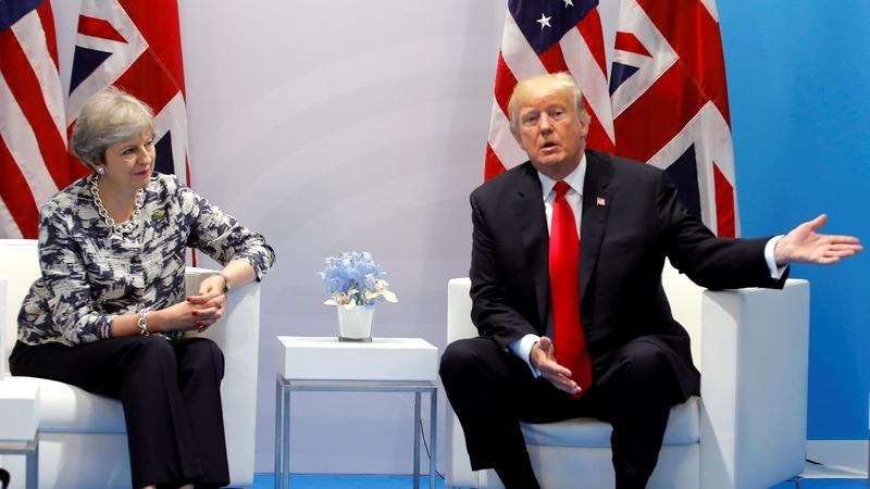 VERBATIM: Trump: U.S. hopes for trade deal with UK