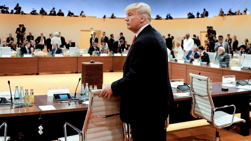 Final G20 statement exposes rift with the U.S.