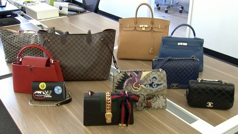 The luxury resale market finds a home online