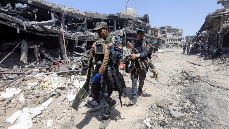 Iraq declares victory in Mosul