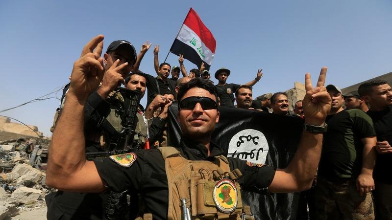 Iraqi PM congratulates soldiers on Mosul 'victory'