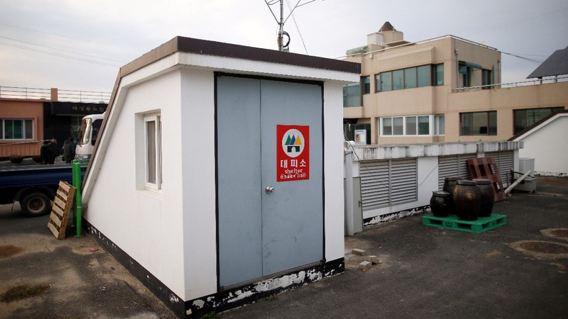 South Korea's bomb shelters unprepared for attacks