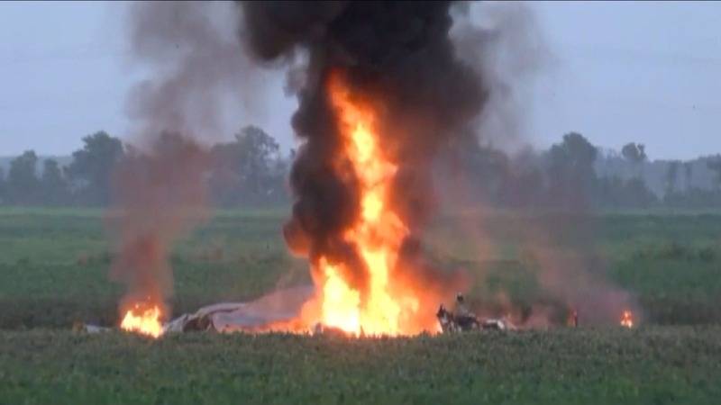 Sixteen reported dead in military plane crash in Mississippi