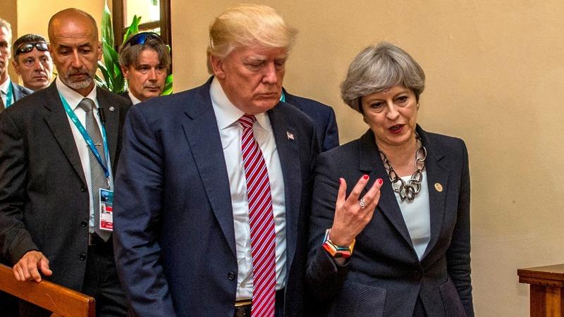 President Trump's UK visit 'delayed'