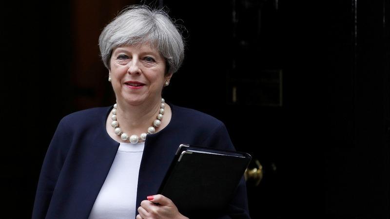 VERBATIM: UK PM reaffirms her path for Britain