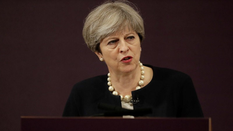 May marks first year as British PM with relaunch