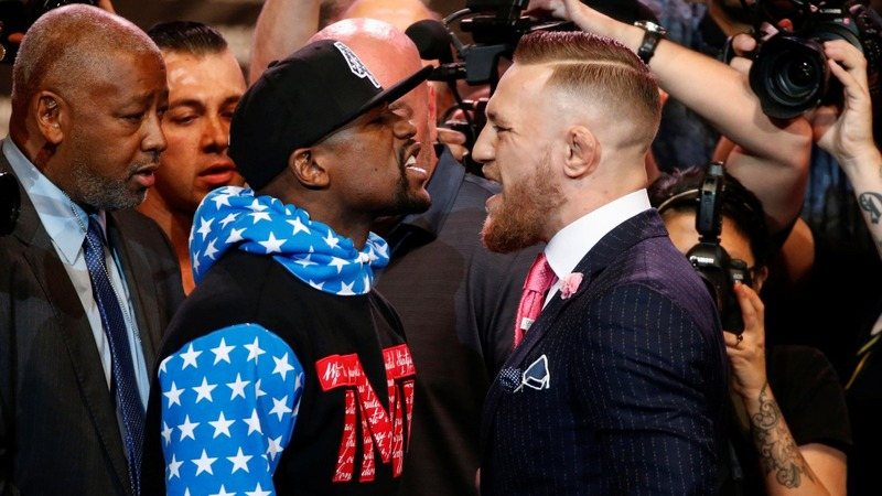 INSIGHT: War of words for boxing's Mayweather and McGregor