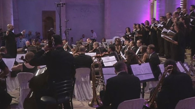 INSIGHT: Aleppo church reopens to classical music