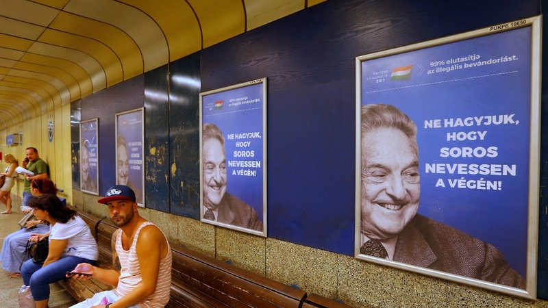 Hungary to end anti-Soros poster campaign