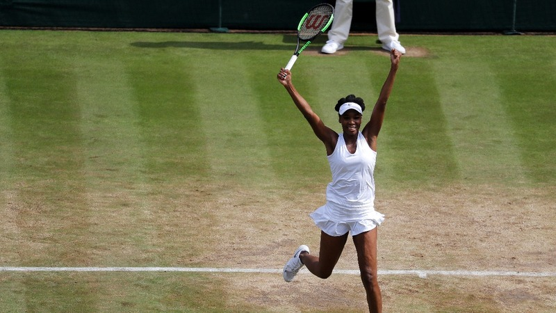 Venus eyes history with Wimbledon win