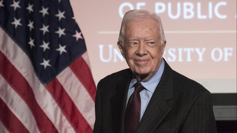 Former President Carter hospitalized in Canada