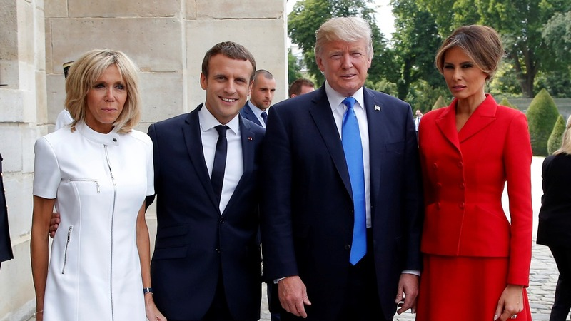 Trump's attempt at French flattery backfires