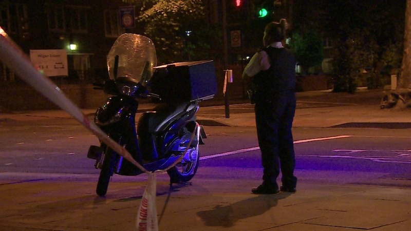 Five 'linked' acid attacks reported in London