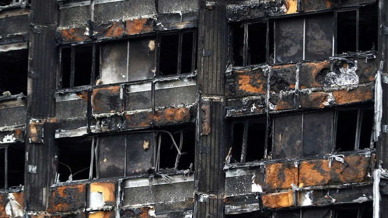 U.S. firm sued over London building blaze