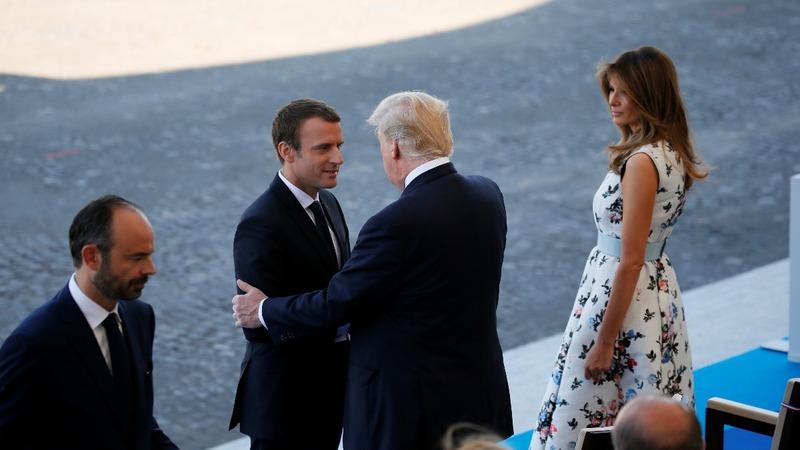 INSIGHT: Trump celebrates Bastille Day in France