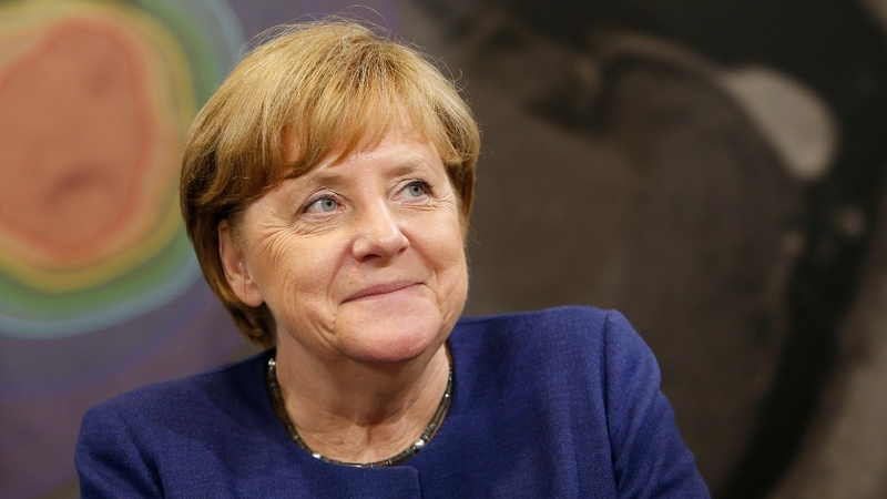 VERBATIM: Merkel champions EU to German voters