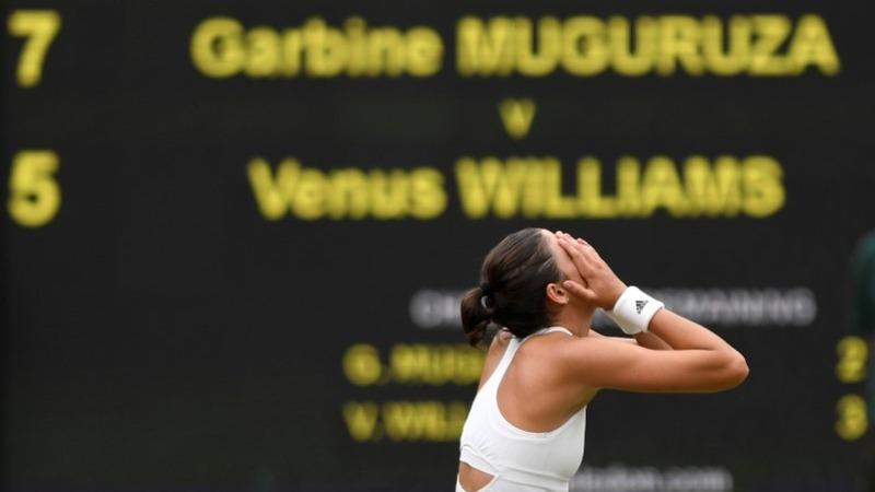 Muguruza beats Venus to take Wimbledon crown