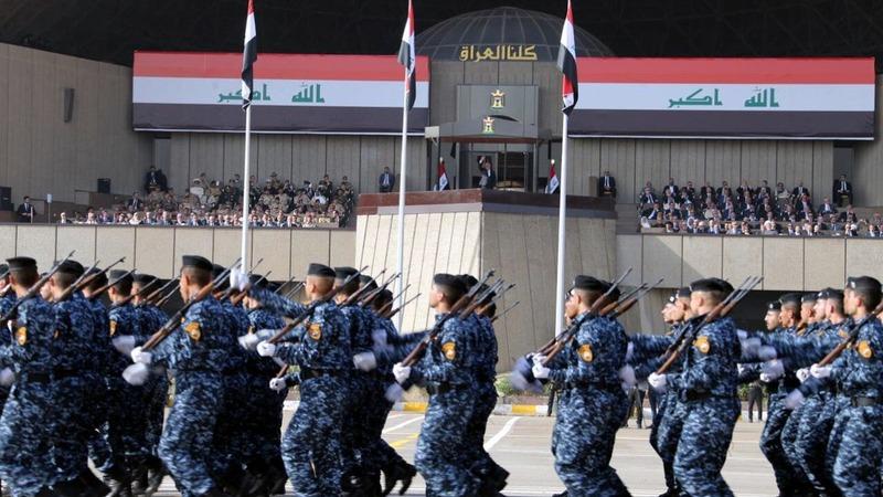 Iraq celebrates Mosul victory with parade