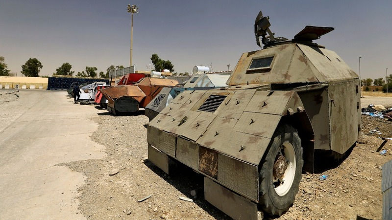 In Pictures: Islamic State's war machines