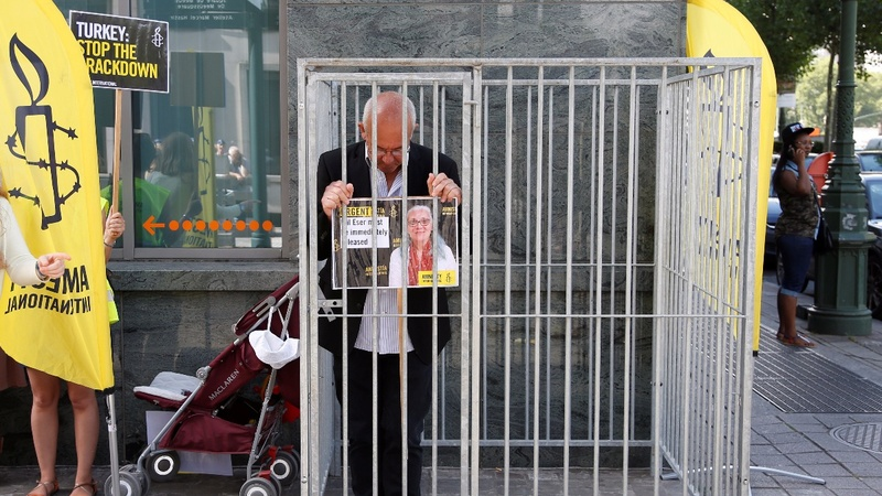 Amnesty: Justice a 'stranger' in Turkey