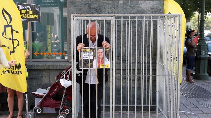 Amnesty: Justice a 'stranger' in Turkey