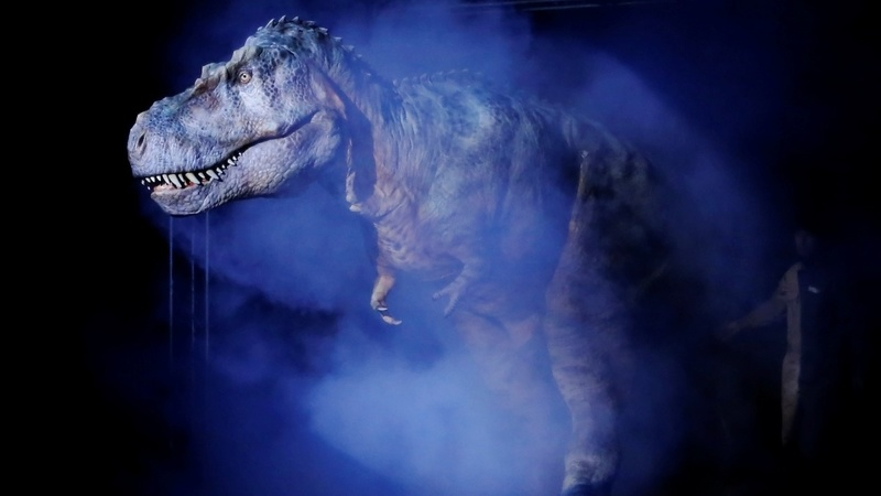 Pursued by a T. rex? You can outrun it, maybe