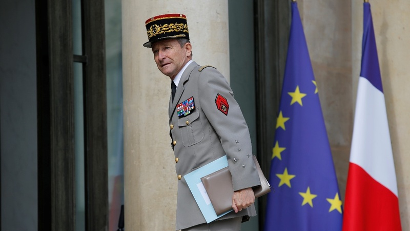 France's armed forces chief quits over budget cuts